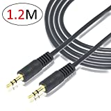 #10: 3.5mm Male To Male Stereo Audio Aux Cable - 1.2M - 3.9 Feet