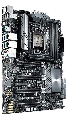 ASUS Z270-WS Intel Z270 LGA 1151 (Socket H4) ATX - Motherboards (DDR4-SDRAM, DIMM, 2133,2400,2666,2800,3000,3200,3300,3333,3400,3466,3600,3733,3866 MHz, Dual, 64 GB, Intel)