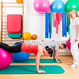 Fitnessmatte ideal für Pilates, Gymnastik, Heimsport und Yoga ab 0,8cm Dicke bis ca. 2cm - 5