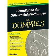 Grundlagen der Differentialgleichungen für Dummies