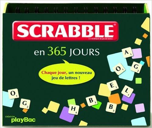 Scrabble en 365 jours (Anglais) de Play Bac ( 14 octobre 2009 )