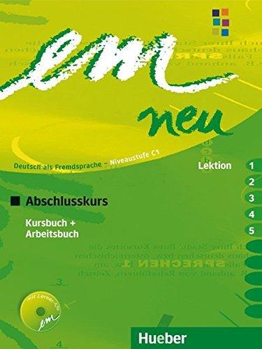 Em Neu Abschlusskurs in Zwei Banden: Kurs- Und Arbeitsbuch Lektion 1-5 MIT Arbeitsbuch-Audio-CD (German Edition) by Michaela Perlmann-Balme (2008-05-21)
