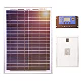 Best Charge Controllers - Dokio 20W Polycrystalline Solar Panel for 12 V Review