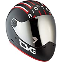 TSG Pass Pro Graphic Design (+ Bonus Visor) Completo Visera Casco, Verano, Unisex, Color mav, tamaño Small