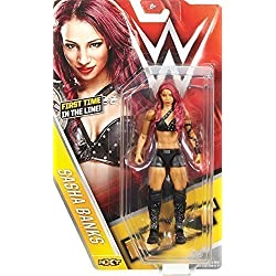 SASHA BANKS - NUOVO SERIE BASIC 59 WRESTLING ACTION FIGURE