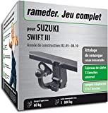 Rameder Attelage rotule démontable pour Suzuki Swift III + Faisceau 13 Broches...