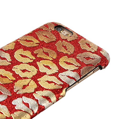 GHC Cases & Covers, Sexy Lip Print Patterns Hard Back Cover Schutzhülle für iPhone 6 & 6s ( Color : Red ) Red