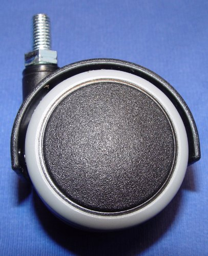 Möbelrolle 50mm Hartbodenrollen Gummi Gewinde M8x15mm - Ersatz-ofen-racks