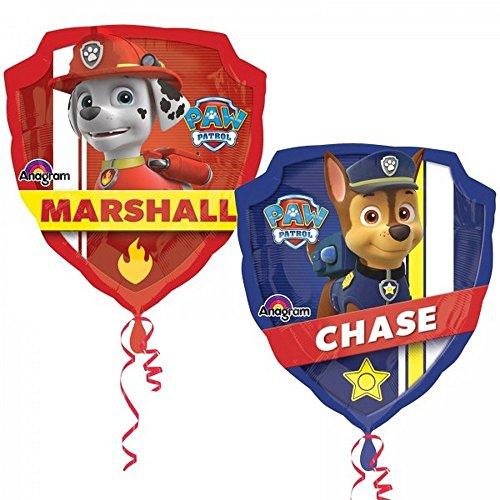 Bola De La Pat patrulla canina XL helio Chase Marcus
