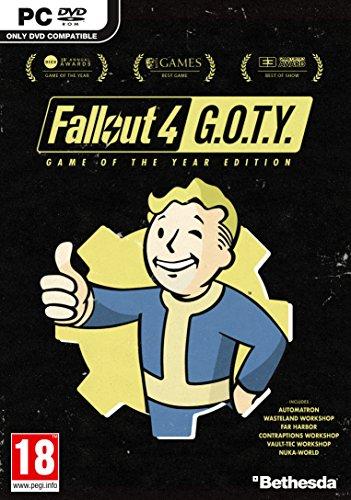 Foto Fallout 4 GOTY (PC DVD) [Edizione: Regno Unito]