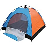 #6: Insasta Automatic Quick Setup 8 Person All Season Waterproof Camping Tent (Color May Vary)