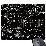 Matriz fórmulas matemáticas cálculo de la ciencia gráfico Rectángulo antideslizante de goma Mousepad ratón juego almohadilla de regalo