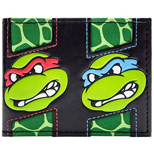 Neue Kostüm Mutanten - Mirage Teenage Mutant Ninja Turtles vielen Gesichter Mehrfarbig Portemonnaie Geldbörse