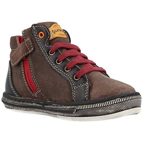 Garvalin Luton, Sneakers Hautes garçon Marron (C Mokka/Burdeos/Orlando/Serraje)