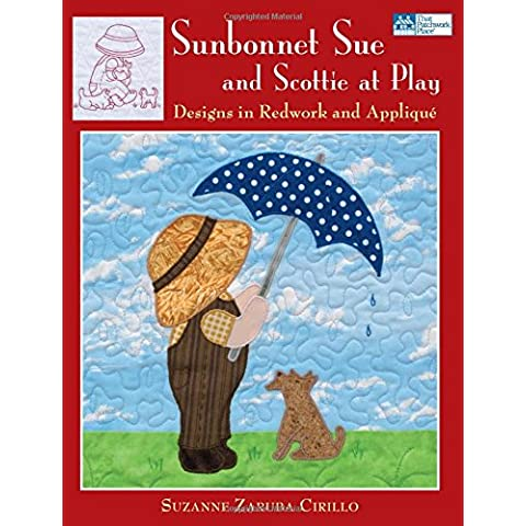 Sunbonnet Sue and Scottie at Play: Designs for Redwork and Applique
