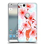 Head Case Designs Alluring Sakura Spring Flowers Soft Gel Case Compatible for Google Pixel 2