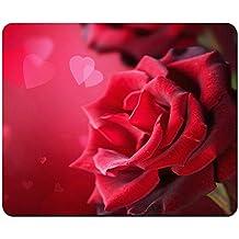 Amor rosa–alfombrilla de ratón (10,2x 8,2cm)