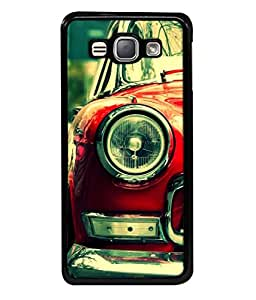 Snapdilla Designer Back Case Cover for Samsung Galaxy J1 (6) 2016 :: Samsung Galaxy J1 2016 Duos :: Samsung Galaxy J1 2016 J120F :: Samsung Galaxy Express 3 J120A :: Samsung Galaxy J1 2016 J120H J120M J120M J120T (Metallic Travel Classic Shiny Chrome Antique)