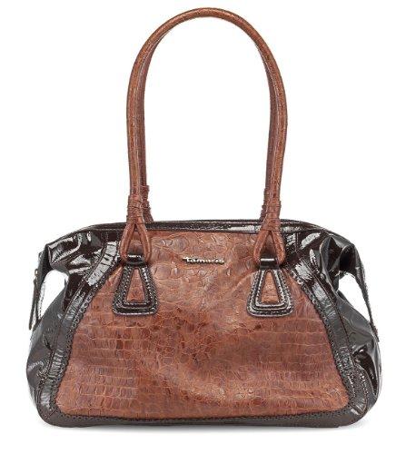 TAMARIS ANNIE Handtasche, Shopper, Kroko-Prägung, 2 Farben: muscat braun oder graphite grau muscat braun