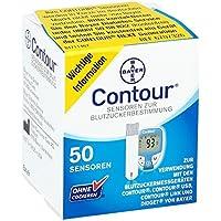 Contour Sensoren Teststreifen, 50 St preisvergleich bei billige-tabletten.eu