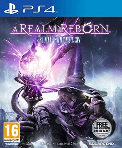 Square Enix Final Fantasy XIV: A Realm Reborn, PS4 - Juego (PS4, PlayStation 4, Soporte físico, MMORPG, Square Enix, 27/08/2013, T (Teen))