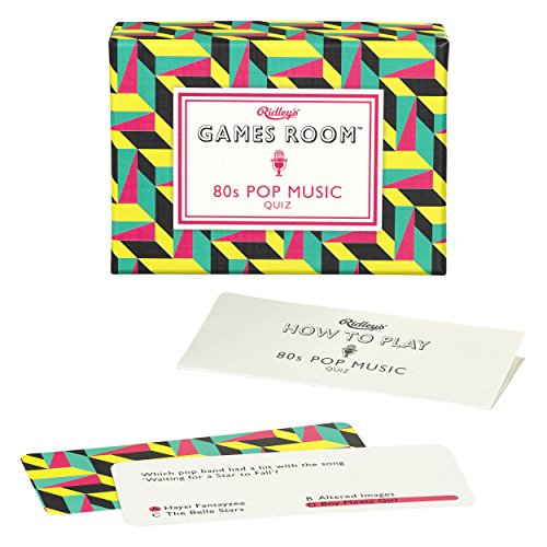 Trivia Game Good Mix of Questions 80s Pop Music Quiz Ridleys Games Room