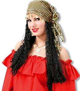 Parrucca di carnevale Esmeralda