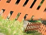Prosper Plast iplsu2-r62436x 52cm Classic Garten Zaun–Terracotta