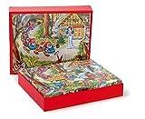 Egmont Toys Kinderpuzzle, Würfelpuzzle, 20 Blöcke, Motiv: Schneewittchen