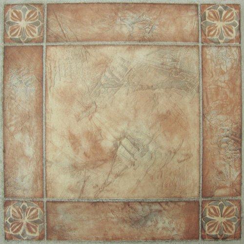 Achim Home Furnishings ftvma44620Nexus 12x 12Zoll Vinyl Tile, Spanisch Rose, 20er Pack