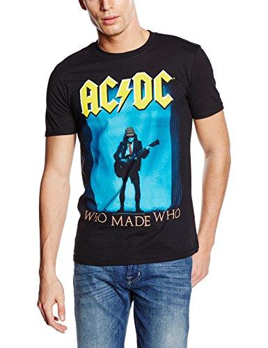 Plastichead Herren T-Shirt Ac/Dc Made Who Schwarz - Schwarz