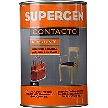 Tesa 62600-00000-09 - Supergen adhesivo contacto resistente en bote, 1 L