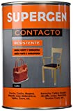 Tesa Tape 14020006 Supergen Adhesivo Contacto Resistente En Bote, Amarillento, 1L