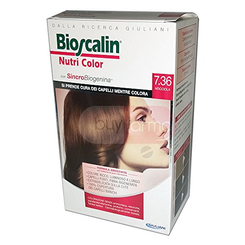 BIOSCALIN Nutri Color colorazione permanente Nocciola 7.36