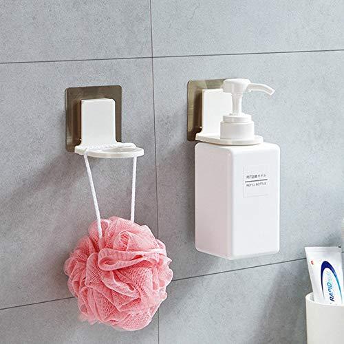 Home Bad Lagerung Dusche Dew Hanger Badezimmer Saugwand Shampoo Hand Sanitizer No Trace Haken Sticky Haken -
