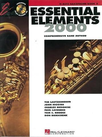 Essential Elements 2000 Eb Alto Saxophone Book 2(Book + CD