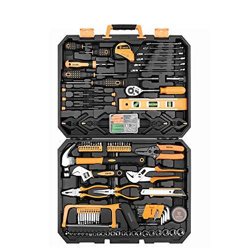 168PC Plug Wrench Tool Set Automatische Reparatur Tool Kit Handwerkzeug Kombination mit Kunststoff Toolbox Aufbewahrungsbox -