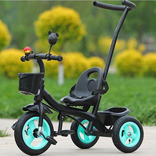 LZTET Cochecito De Bebé Pedal 3 Ruedas Prevención