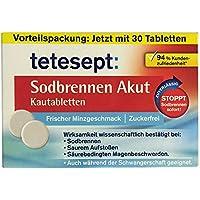 Tetesept Sodbrennen Akut Kautabletten mit frischem Minzgeschmack, 20 Stück preisvergleich bei billige-tabletten.eu