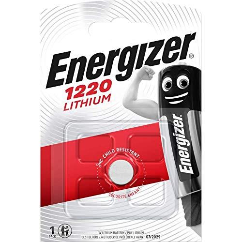 ENERGIZER CR1220 LOT DE 2 PILES AU LITHIUM 3V