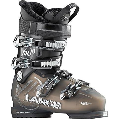 Lange SX 70 W - Botas de esquí para mujer, color negro, talla 25