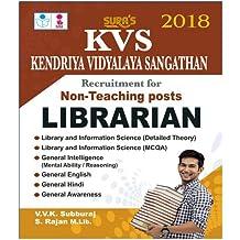 KVS Non Teaching Posts Librarian Exam Books 2018
