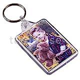 Personalised Custom Photo Gift Keyring Key Fob 50 x 35 mm | Medium Size | SKU: [ 81 ] IDKEY