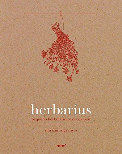 Herbarius. Pequeño herbolario para colorear
