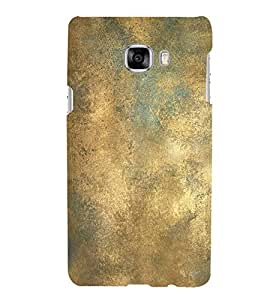 FUSON Grunge Texture Pattern Background 3D Hard Polycarbonate Designer Back Case Cover for Samsung Galaxy C7 SM-C7000