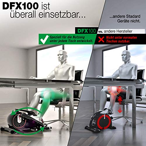 Sportstech Premium Mini-Heimtrainer DFX mit App - 6
