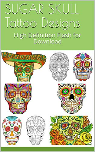 SUGAR SKULL Tattoo Designs: High Definition Flash for Download ...