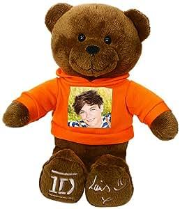 One Direction 52394-5 - Plüsch, 23 cm mit dem Foto von Louis auf dem T-Shirt