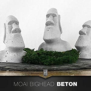 Moai Figur Osterinsel aus Beton