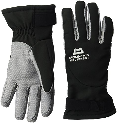 Mountain Equipment Damen Super Alpine Handschuhe, Black, M